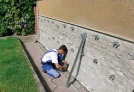 Příprava závěsů pro konstrukci s AQUAPANELEM
