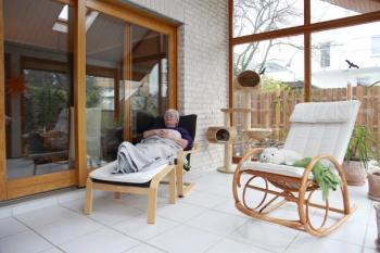 Relaxace v zimní zahradě