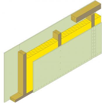 Nosný panel s deskami RigiStabil, schéma