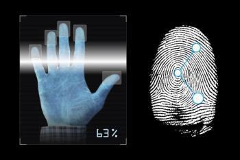 Otisk prstu nebo dlaně