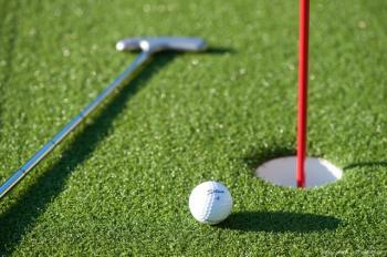 Umělý golfový green