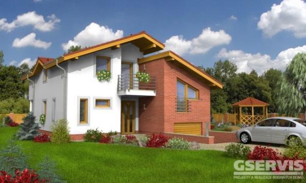 Typový projekt rodinného domu Trend 281