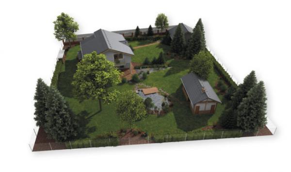 Model pozemku