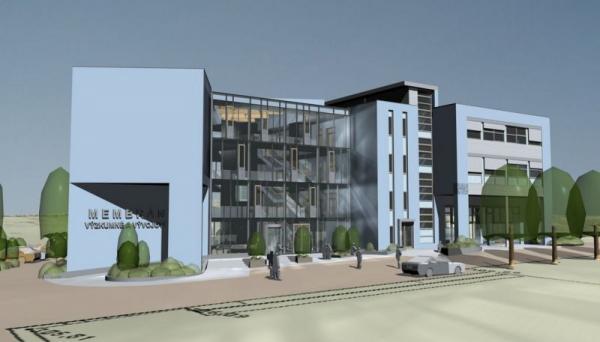 3D vizualizace Membránového inovačního centra