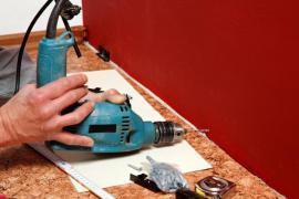 Montáž podlahových lišt