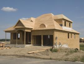 Dřevostavba rámové konstrukce