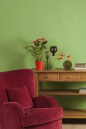 Kvalitně provedená úprava stěn v interiéru