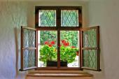 Dřevěné okno