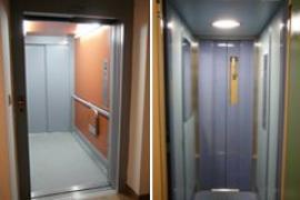 Modernizované výtahy