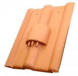 Střešní taška s kabelovými prostupy