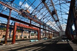 Průmyslový provoz pro výrobu kovaných výrobků