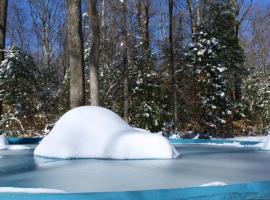 Nadzemní bazén je lepší na zimu uschovat