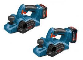Kompaktní akumulátorové hoblíky GHO 14,4 V-LI Professional a GHO 18 V-LI Professional