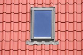 Kvalitně osazené střešní okno