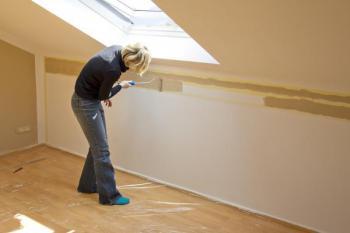 Malování bytu, úpravy stěn
