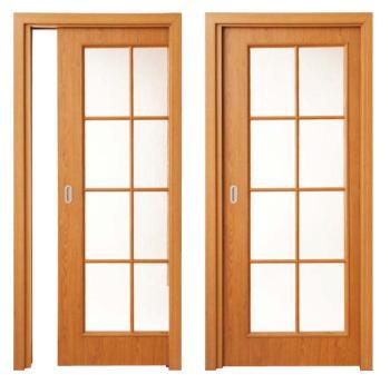 Zásuvné dveře do stavebního pouzdra