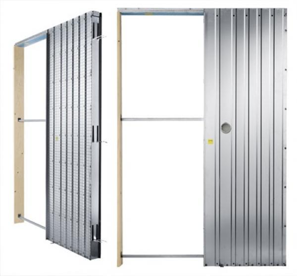 Stavební pouzdro do zdi (vlevo) a do SDK příčky (vpravo), zdroj J.A.P.