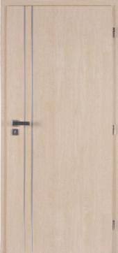 Interiérové dveře ALU II, CPL javor