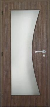 Interiérové dveře typu 020 zmodelové řady SEPOS, 3D dekor  pamplona