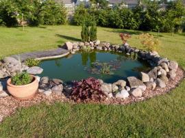 Zazimujeme jezírka, bazény, zavlažovací systém, ale i fontánky