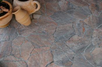 Moderní typ betonové dlažby v imitaci kamene - DITON STONE colormix MORANO