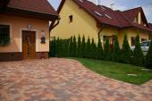 Moderní typ betonové dlažby - DITON TESELA colormix RUDEN