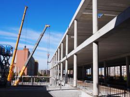 Centrum Krakov - současná fáze výstavby