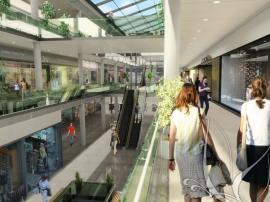 Centrum Krakov - vizualizace interiéru