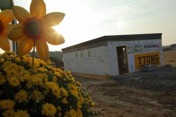 Dům stavěný z tvárnic značky Ytong za 24 hodin