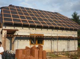 Olaťovaná střecha