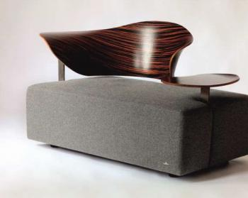 Vítězný výrobek roku 2012 - křeslo VESPERA od designéra Jiřího Pelcla