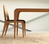 Stůl a židle CETUS od designéra Petra Šebela