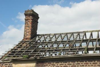 Stará konstrukce krovu