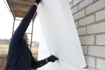 Kontaktní zateplování domu polystyrénem