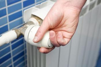 Konvenční otopné těleso (radiátor), seřizování tělesa termostatickým ventilem