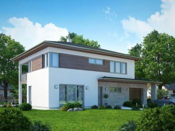 3D model typového rodinného domu