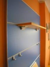 Stěnový systém v dětském pokoji