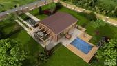 Pohled: typový bungalov Studio A