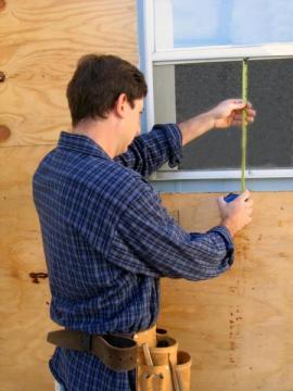 Přeměření stavebního otvoru