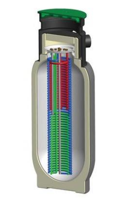 Akumulační nádrž Regulus Akuplast APZ – instalace do země