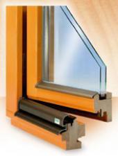 Profil dřevěného okna Luxus IV 68