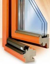 Profil dřevěného okna Luxus IV 84