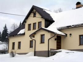 Zasněžená střecha