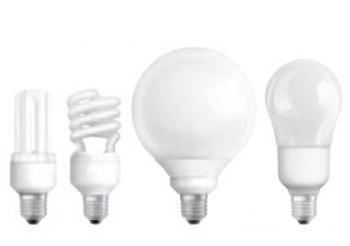 Kompaktní úsporné zářivky