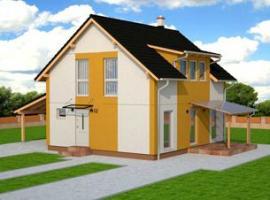 Typový rodinný dům Praktic 113