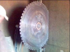 Jádrové řezání pilou s diamantovým kotoučem