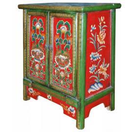 Restaurovaný malovaný nábytek