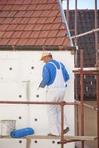 Zateplení fasády polystyrenem