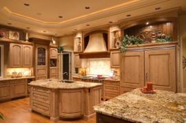 Masivní kuchyň