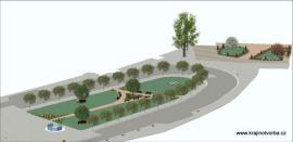 Příklad návrhu revitalizace zeleně v městském prostředí
